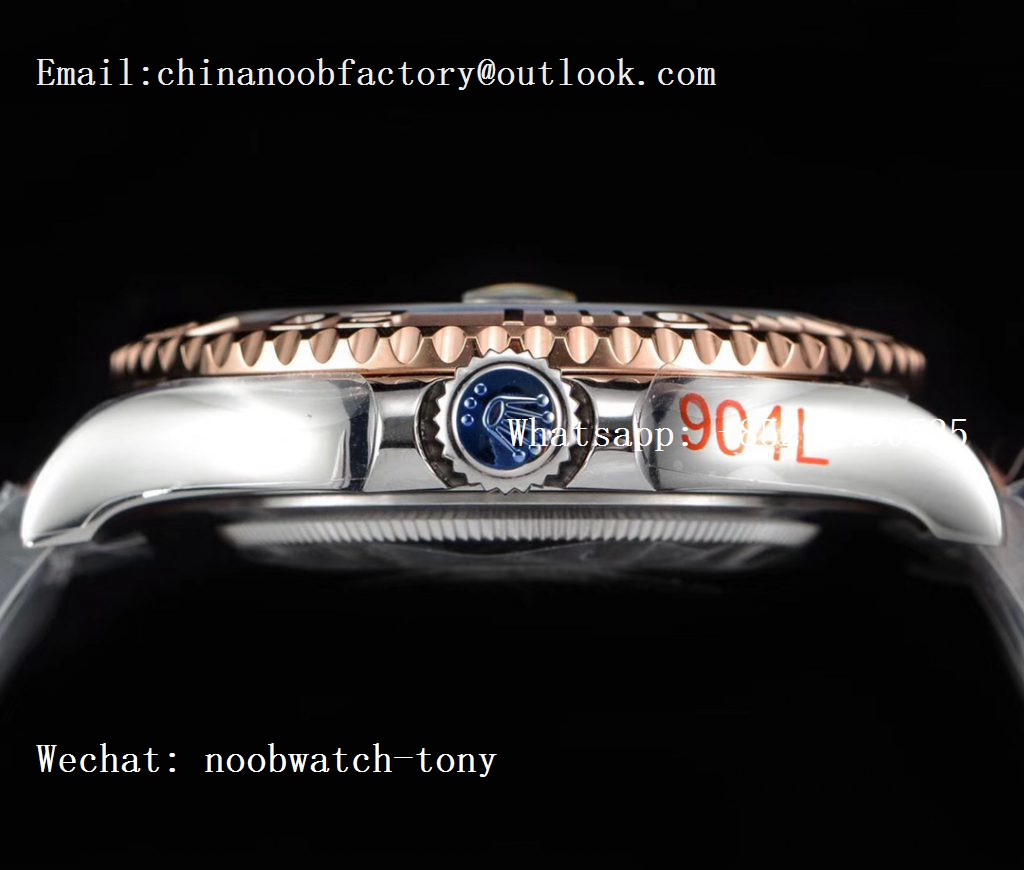 Replica Rolex Yacht-Master 126621 2tone Rose Gold GMF 1:1 Best Edition Brown Dial on SS/RG Bracelet SA3235