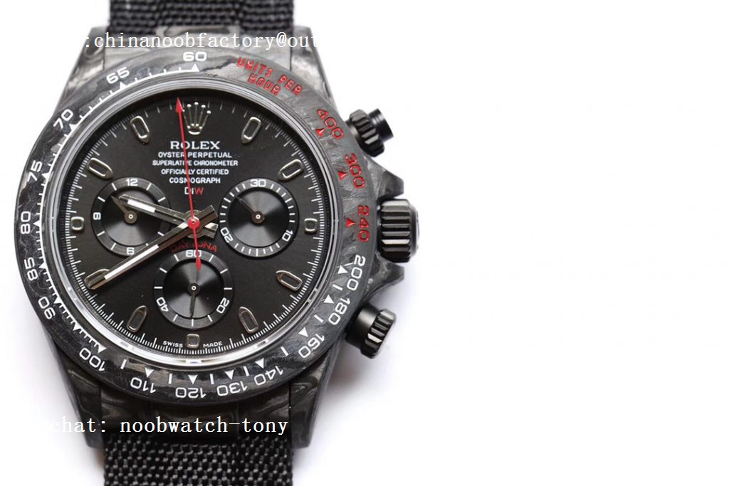 Replica Rolex Daytona DIW TWF Best Edition Carbon Case