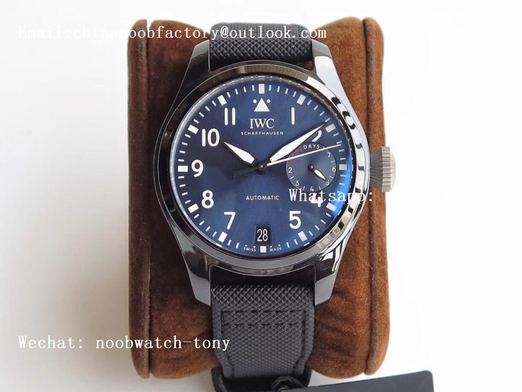Replica IWC Big Pilot Real PR IW502003 Real Ceramic BOUTIQUE RODEO DRIVE ZF 1:1 Best Edition A51111 V2