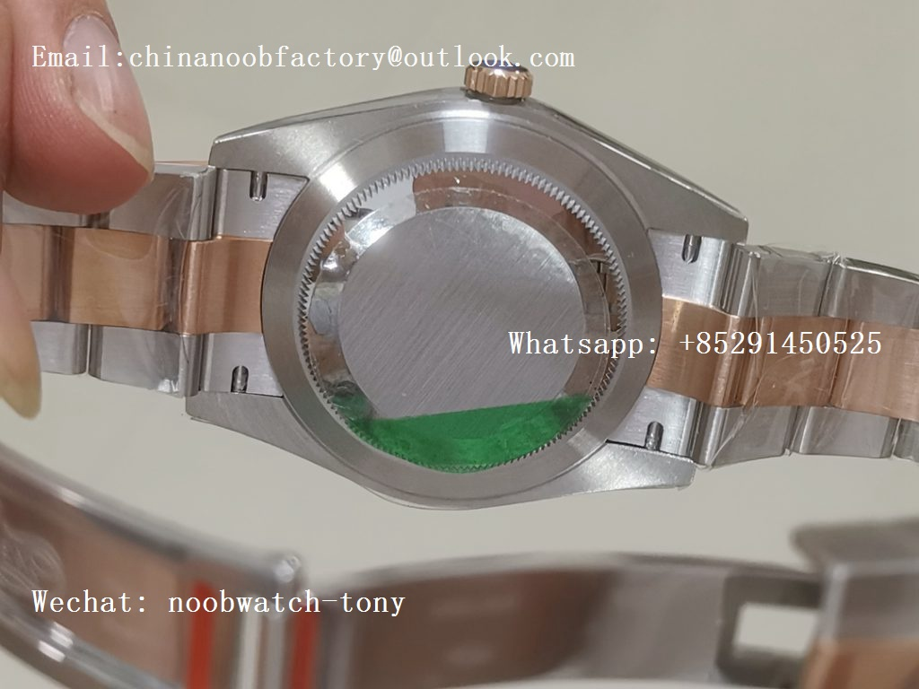 Replica Rolex DateJust 41 126331 Rose Gold Steel ARF 1:1 Best Edition 904L Steel Brown Dial on Oyster Bracelet A2824