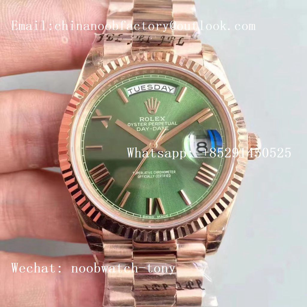 Replica Rolex Day-Date 40mm EWF on President Bracelet A3255 movt