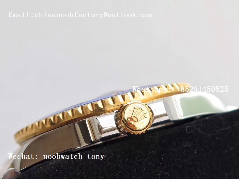 Replica Rolex Submariner 116613 LB VRF 1:1 Best Edition 18kt Yellow Gold Wrapped Blue Dial MAX Version