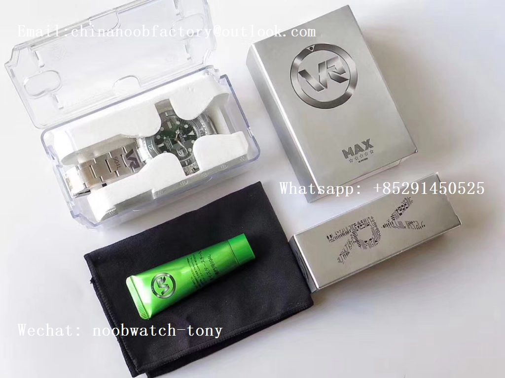Replica Rolex Submariner 116610 LV HULK Green Ceramic VRF 904L 1:1 Best Edition on SS Bracelet VR3135