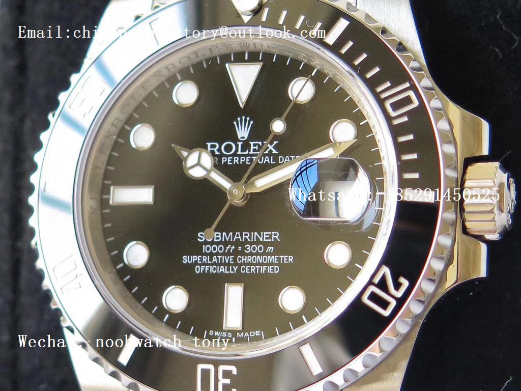 Replica Rolex Submariner 116610 LN Black Ceramic VRF 904L 1:1 Best Edition on SS Bracelet VR3135