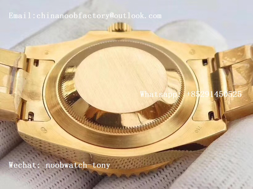 Replica Rolex Submariner 116618 LN VRF 1:1 Best Edition 18kt Yellow Gold Wrapped Black Dial MAX Version