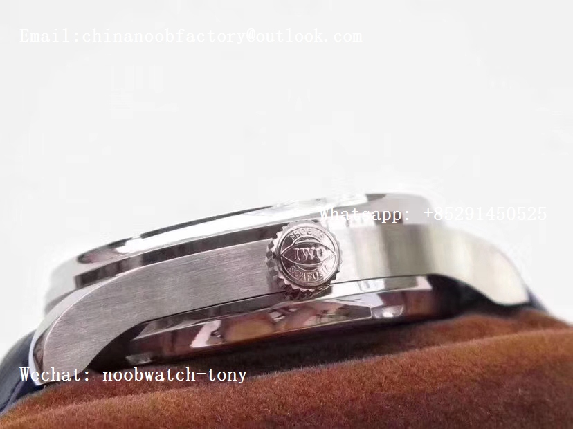 Replica IWC Portuguese Real Power Reserve IW500705 ZF 1:1 Best Edition White Dial Blue Markers A52010 V4