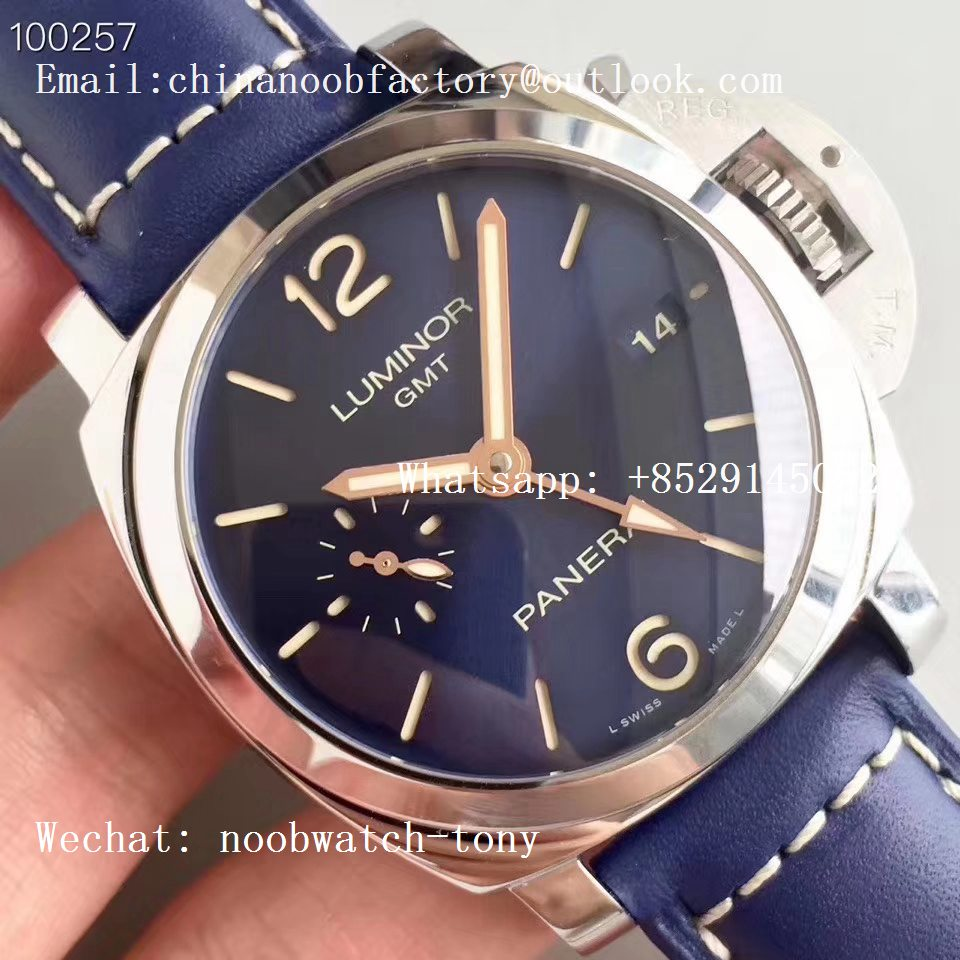 Replica Panerai PAM688 S VSF 1:1 Best Edition Blue Dial on Blue Leather Strap P.9001 Super Clone V2