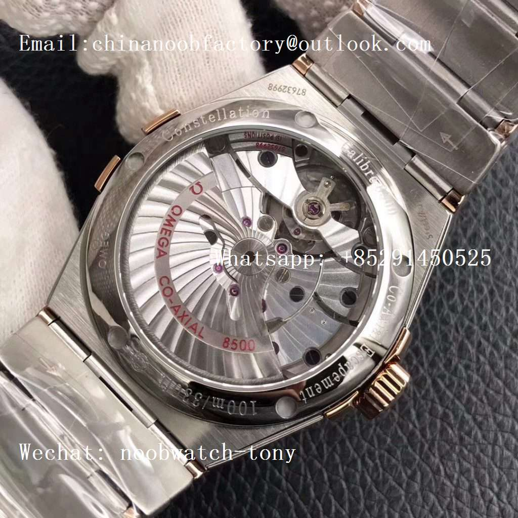 Replica OMEGA Constellation 38mm SS/Rose Gold VSF 1:1 Best Edition A8500 Super Clone